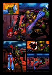 Liza ray issue 3 page 10 by dushans