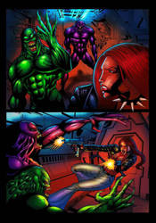 Liza ray issue 3 page 13 by dushans