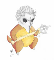 Cubone GHOST Nameless Ghoul by LizzyLovesSatan