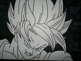 Goku Super Sayan by supervegita