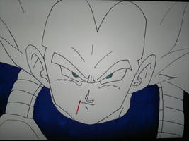 Vegeta Super Saiyan by supervegita