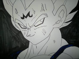 Majin Vegeta by supervegita