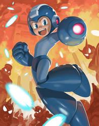 Battle Blue by Imson