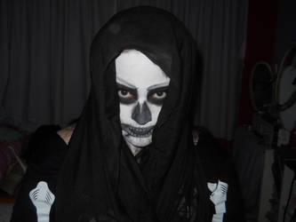 Skull Make up 03 by ohhonestlystanley