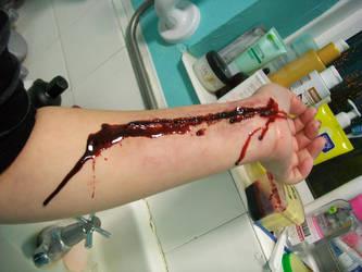 Bloody Arm Stock 01 by ohhonestlystanley