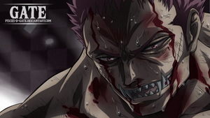 One Piece Scan 896 - Charlotte Katakuri's fall by Pisces-D-Gate