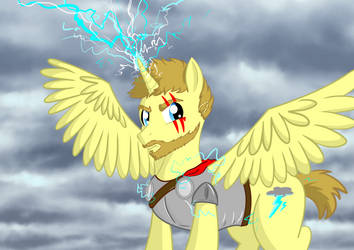 Thor- God of Thunder in Equestria by CrazyWackyBonkerz