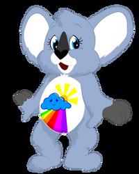 Shine Again Koala by CrazyWackyBonkerz