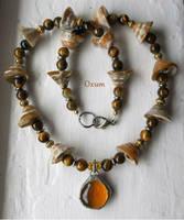 Oxum Necklace by IdolRebel