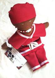 Mini Chango Orisha Doll by IdolRebel