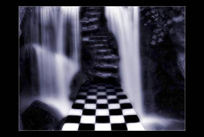 Surreal Falls by Forestina-Fotos