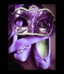 Purple Masquerade by Forestina-Fotos