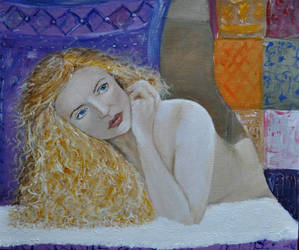 The Beautiful Muse - work in progress by Forestina-Fotos