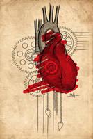 Mech heart by T-Nelly