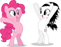 SoGreatandPowerful and Pinkie Pie Swear by LazyPixel