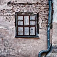 Blinded window by Igor-Demidov