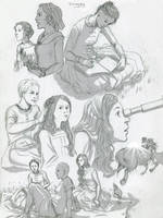 TP: Dove Character Study by yellowis4happy