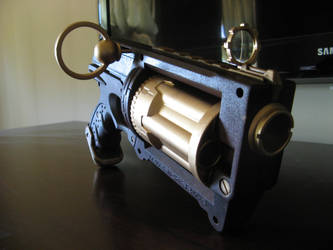 Steam Punk Revolver - Nerf Gun by Kiwa-Ku