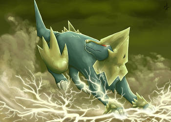 310 Manectric by Ladytrupp