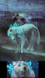 Glowing Blue by Ladytrupp