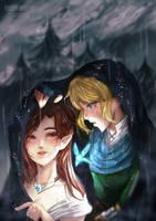  Hyrule Warriors: Reunited Trust  Rainy Days by RossiniCrezyel