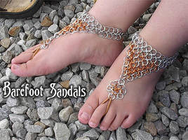 Barefoot Sandals by crazed-fangirl