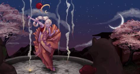 LoL: Lunar Revelry by scriptKittie