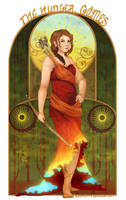 Hunger Games: Girl on Fire by scriptKittie
