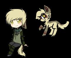Werewolf Custom by DreamSeizure-Adopts
