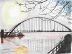 Humber Bridge on a Winter Morning by garyjwood