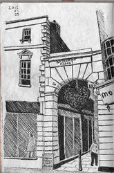 Greenwich Market Entrance by garyjwood