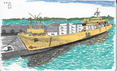 Banana Boat by garyjwood