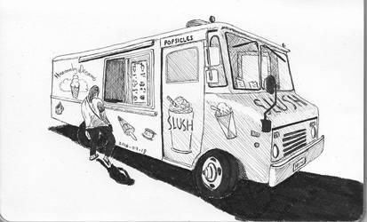 Ice Cream Truck by garyjwood