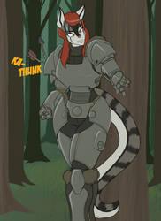 Jenna's Odd New Armor By Toughset by Amnesiaofdarkness