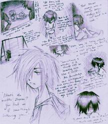 Ienzo's childhood... by Kjbionicle