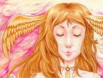 Goddess of Golden Light by rose-star