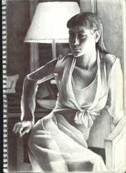 Pen drawing  by Yancey