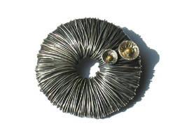 Organic Brooch by silver-zaira