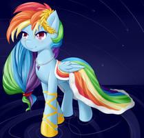 Rainbow Elegance Dash by dstears