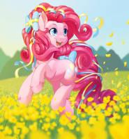 Rainbow Power Pinkie Pie by dstears