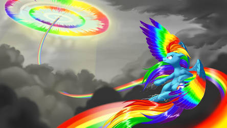 Rainbow Power Rainbow Dash by dstears
