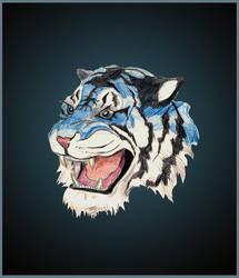 Blue Tiger by Delta-NIFTI
