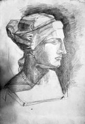 Head of Venus De Milo by Delta-NIFTI