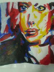 Olga Rykova pastiche by Magemad2k11