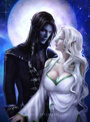 Aurun and Alvrericjas by LAS-T