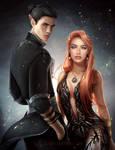 Taynl and Silvari by LAS-T