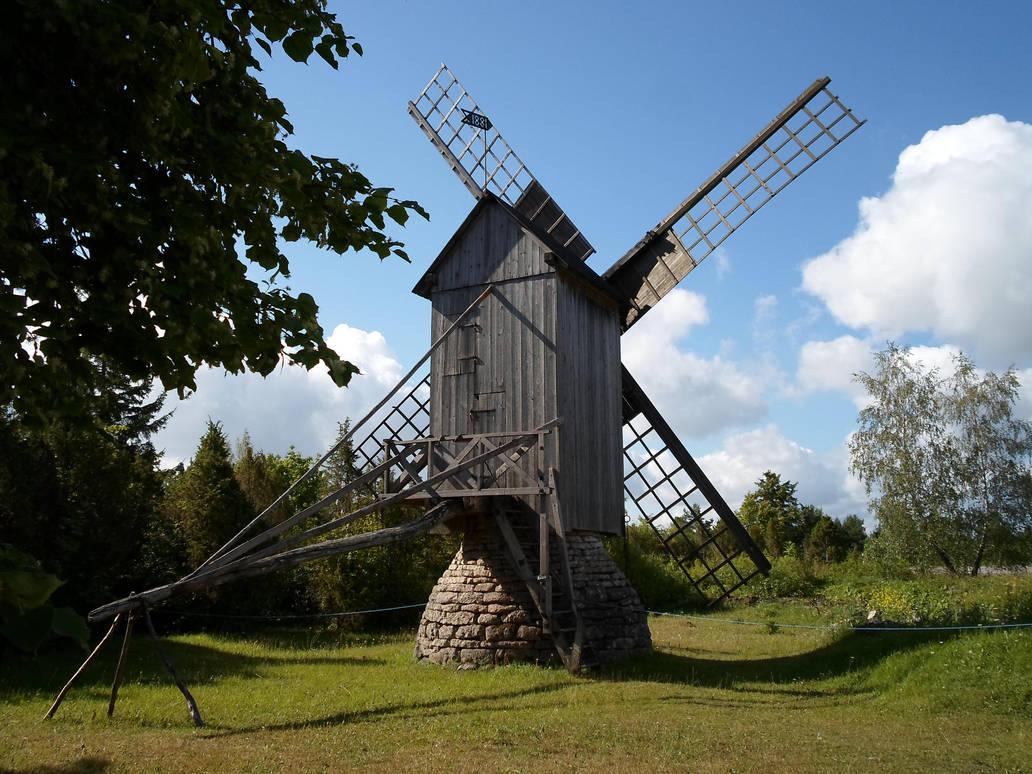 Saaremaa windmill 6 by MASYON