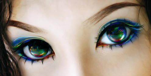 eyes by kevotu