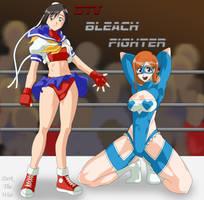 Bleach Fighter Victory Pose by darkthewise