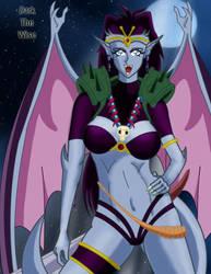 Naga The Gargoyle CG by darkthewise